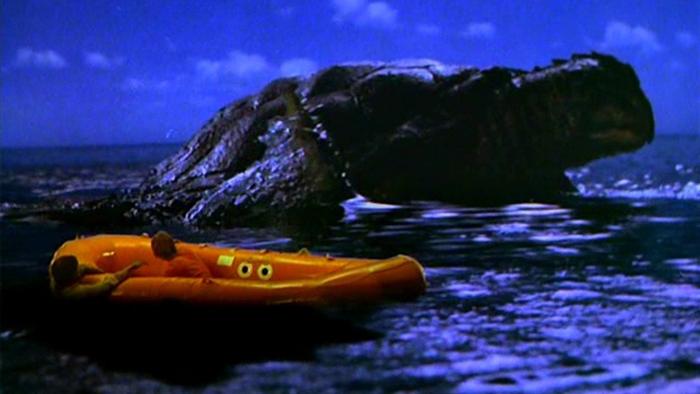 La tartaruga marina gigante nei I misteri delle Bermude (1978)
