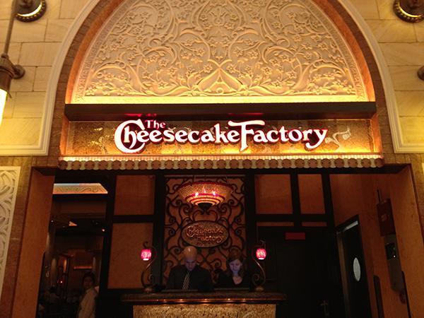 il Cheesecake Factory di The Big Bang Theory