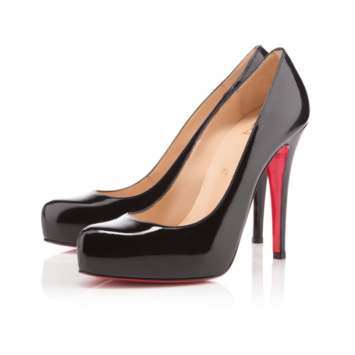 "Christian Louboutin ""Rolando"" Almond Toe Pumps"