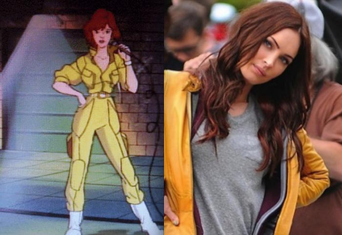 Megan Fox è una seducente April in carne e ossa