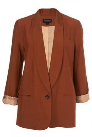 Shawl Collar Tux Blazer €105 su topshop.com