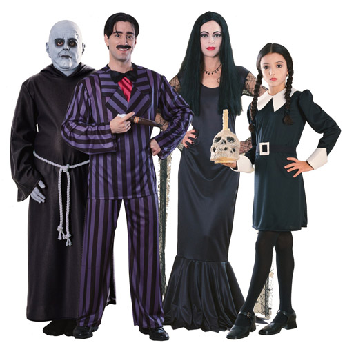 The Addams Family Group Costumes su costumeexpress.com