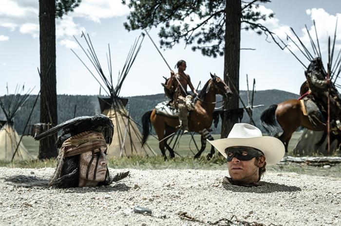 Reid e Tonto in The Lone Ranger (2013)