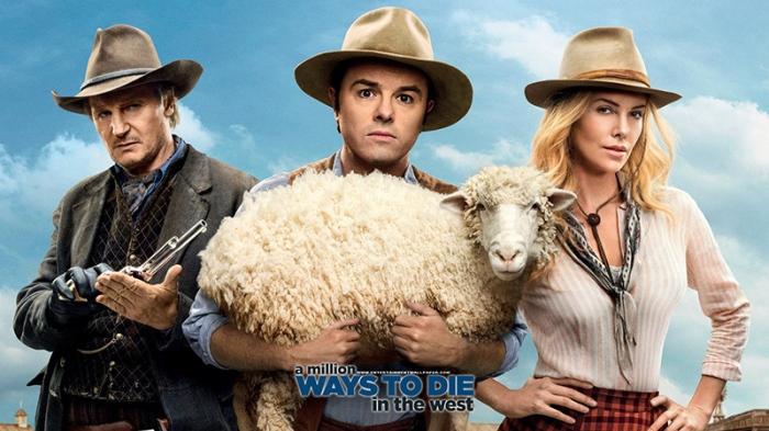 Da Marty McFly che gioca a fare Clint Eastwood in sella alla DeLorean nell'episodio western di Ritorno al Futuro a Gene Wilder in Mezzogiorno e mezzo di fuoco che è così veloce ad estrarre il ferro dalla fondina che nemmeno ce ne accorgiamo, passando per il Wild Wild West della canaglia Will Smith che rappa sugli speroni fino al pecoraio novello cowboy Seth MacFarlane che esperimenta Un milione di modi per morire nel West (da giovedì 16 in sala). Chi di questi pistoleri la spara più grossa?