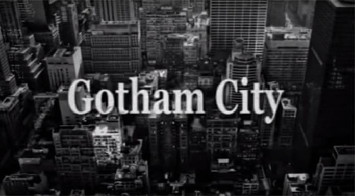 Il corto di una Gotham Terror (1940) in bianconero.