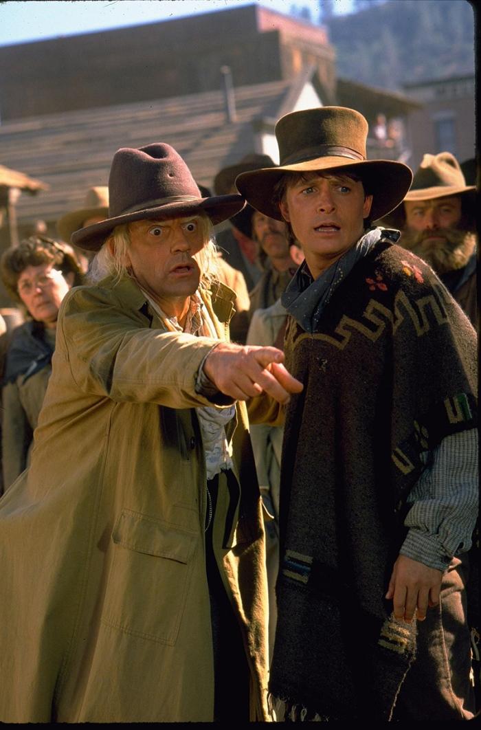 Marty e Doc in Ritorno al futuro - Parte III (1990)