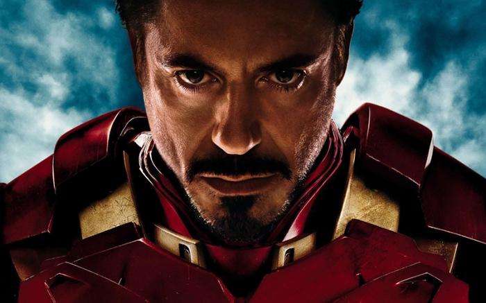Tony Stark nella saga di Iron Man (2008)