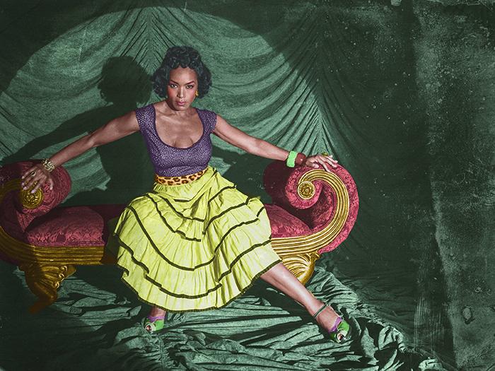 Angela Bassett è Desiree Dupree: la donna con tre seni in AHS: Freak Show