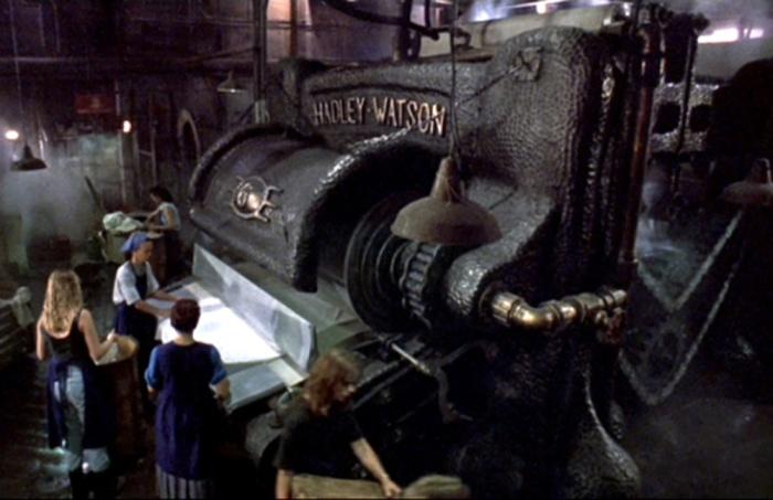 PEGGIORI 1. The Mangler - La macchina infernale (1995)