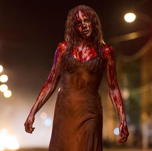 Come Chloë Moretz nel remake di Carrie….