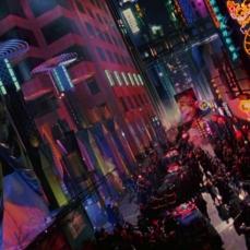 La Gotham City luna park in Batman Forever (1995)