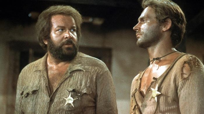 Bud Spencer e Terence Hill in Lo chiamavano Trinità... (1970)