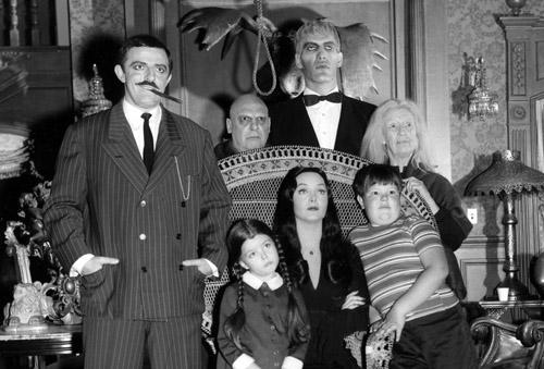 Come La Famiglia Addams che quest'anno compie mezzo secolo