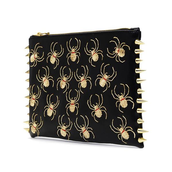 C Mpl T Unkn Wn Spider Gold Clutch €515 su runway2street.com