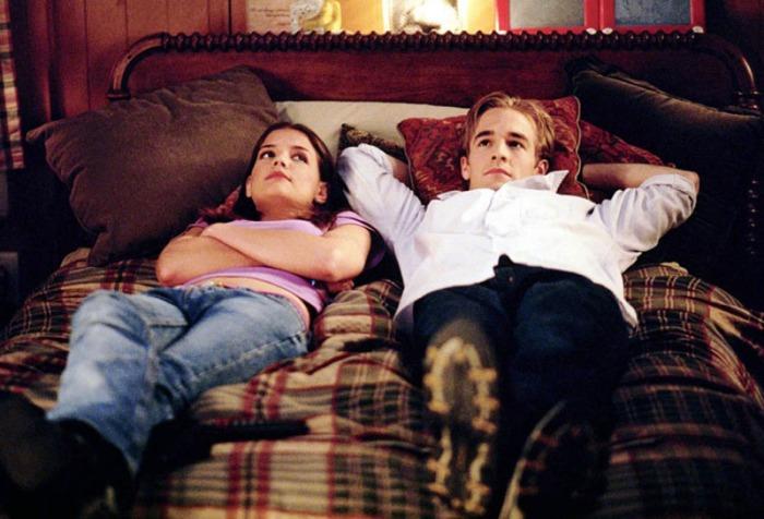 Dawson e Joey in Dawson's Creek