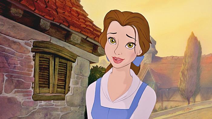 Belle ne La Bella e La Bestia (1991)