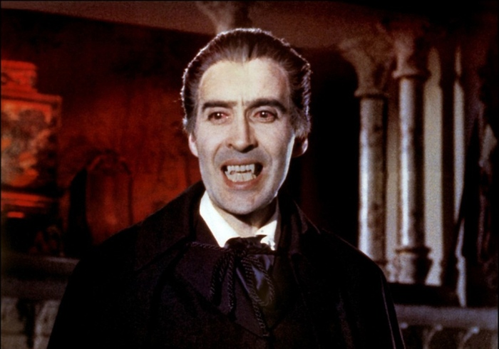 Christopher Lee è Dracula il vampiro (1958) Hammer Productions