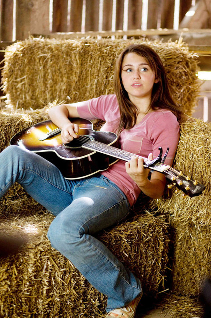 Miley Cyrus in Hannah Montana The Movie (2009)