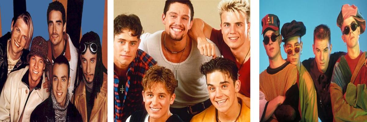 Il Ritorno dei Take That Superstiti: Ecco, le Boy Band dei 90's Ieri&Oggi