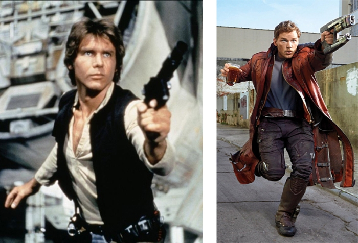 Han Solo vs Star Lord