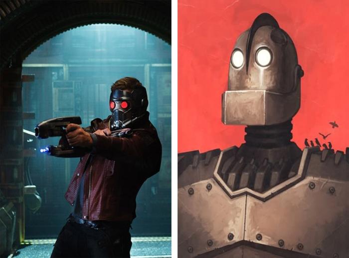 La sua maschera con orbite al led ricorda Il Gigante di Ferro.