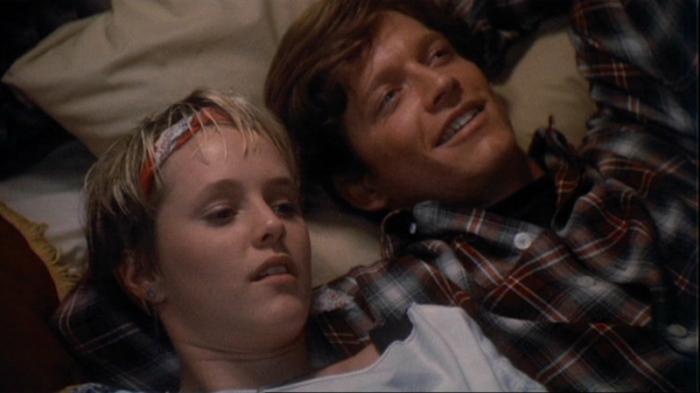 Mary Stuart Masterson e Eric Stoltz in Un meraviglioso batticuore (1987)