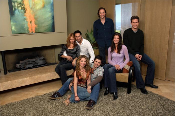Con l'affasciante Rosanna Arquette nella sitcom A proposito di Brian (2006-07)