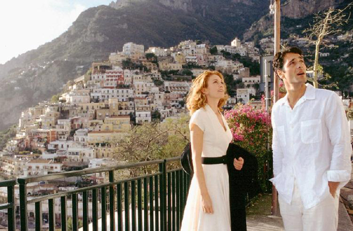 Scivola fra le lenzuola della bella Diane Lane Under the Tuscan Sun (2003) di Cortona