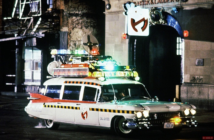 Ectomobile in Ghostbusters (1984)