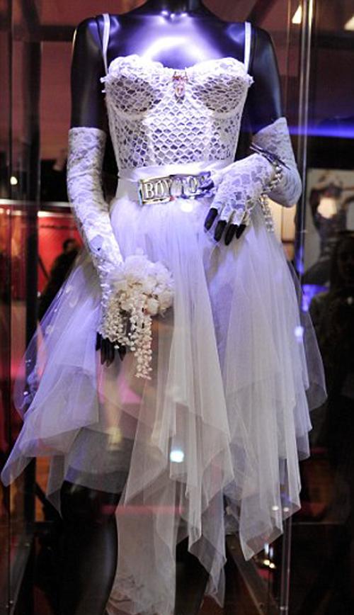 L'abito originale di Maddy è esposto all'Hard Rock Cafe di Miami.