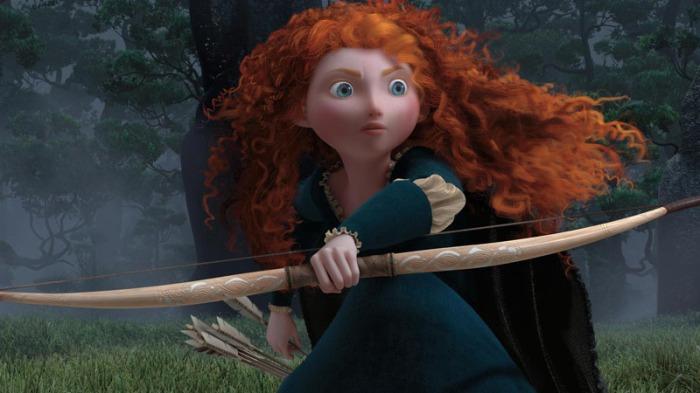 Merida in Ribelle-The Brave (2012)