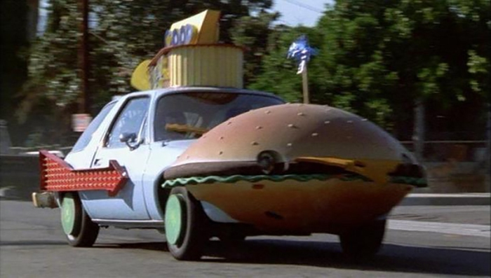 Good Burger car in Missione Hamburger (1997)