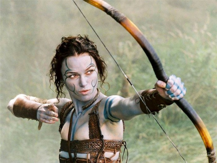 Keira Knightley è Ginevra in King Arthur (2004)