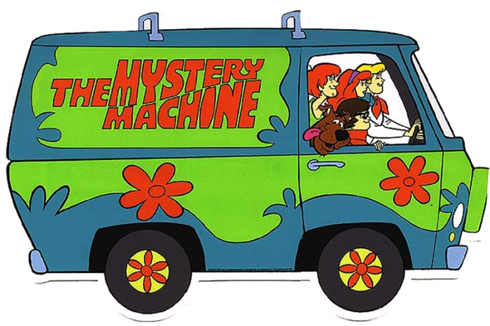 Mystery Machine di Scooby-Doo