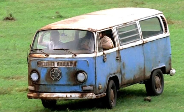 DHARMA vans in Lost