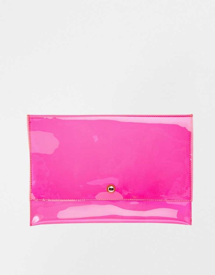ASOS - Pochette pop in plastica € 21,33