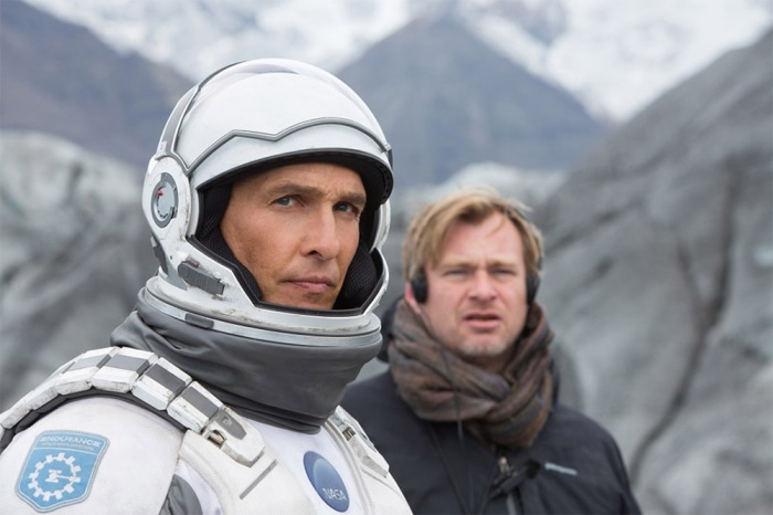 Nolan si è ampiamente ispirato a Uomini veri (1983) che ha voluto mostrare al suo cast proiettandolo sul set. L'impatto visivo della pellicola è, invece, fortemente influenzato da 2001:Odissea nello spazio.