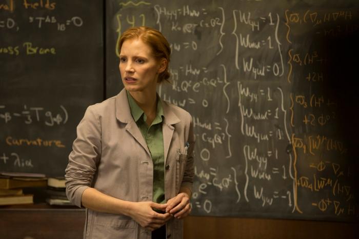 Nelle prime bozze della sceneggiatura, il personaggio di Murph (in età adulta interpretato da Jessica Chastain) era un ragazzo.