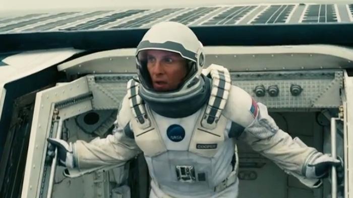 Christopher Nolan ha deciso di scritturare Matthew McConaughey, dopo essere stato colpito dalla sua performance in Mud (2012). Il suo personaggio è descritto dal regista come una sorta di Richard Dreyfuss in Incontri ravvicinati del terzo tipo che abbandona la famiglia non per un viaggio fantastico ma per salvare il mondo.