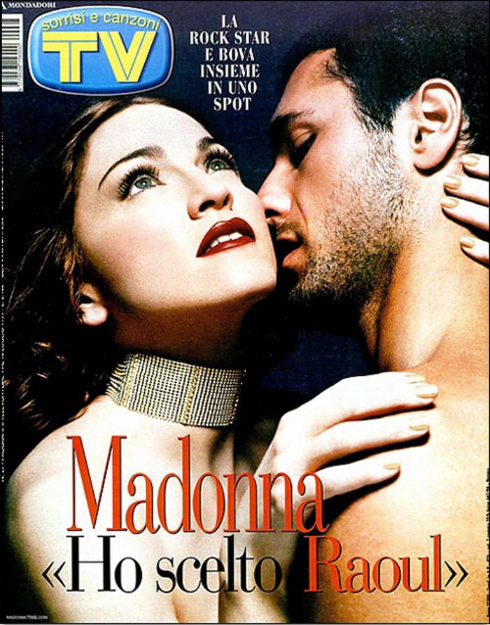 Nel 1999, le sue prestazioni di aitante baciatore sono pretese nientemeno che dalle labbra rouge di Madonna, nello spot di Max Factor.