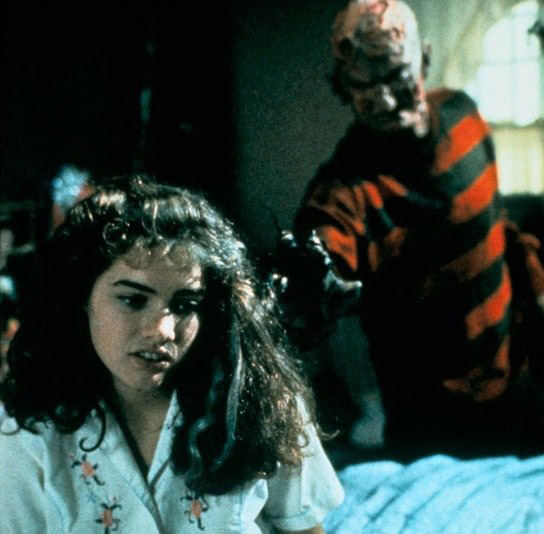 Heather Langenkamp è Nancy Thompson vs Freddy Krueger in Nightmare (1984)