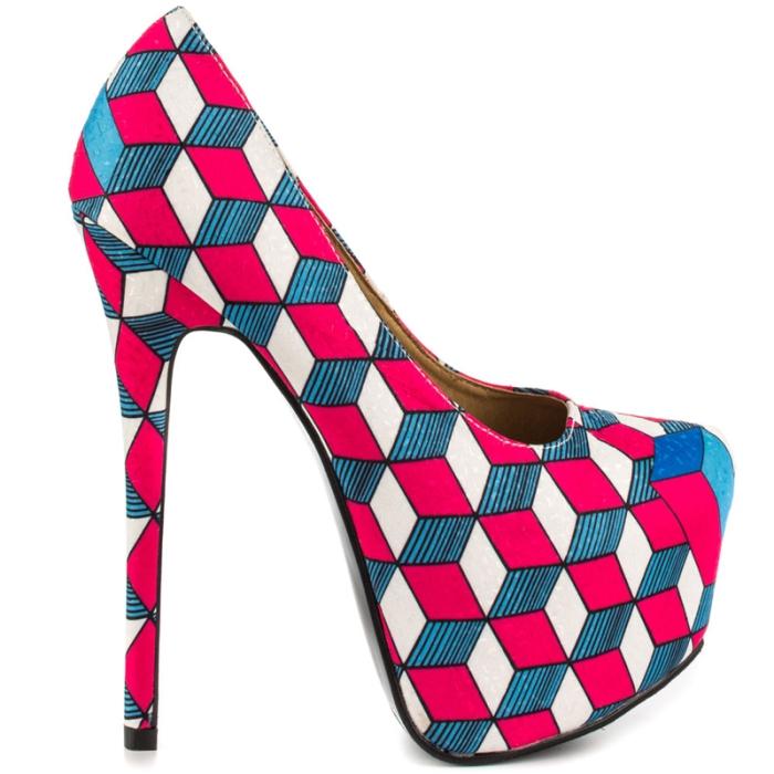 Geo – Fuchsia Liliana $ 54.99 su heels.com