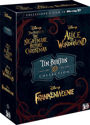 TIM BURTON 3D BOXSET - 3 Blu-Ray 3D + 3 Blu-ray 2D € 35,99 su dvd.it