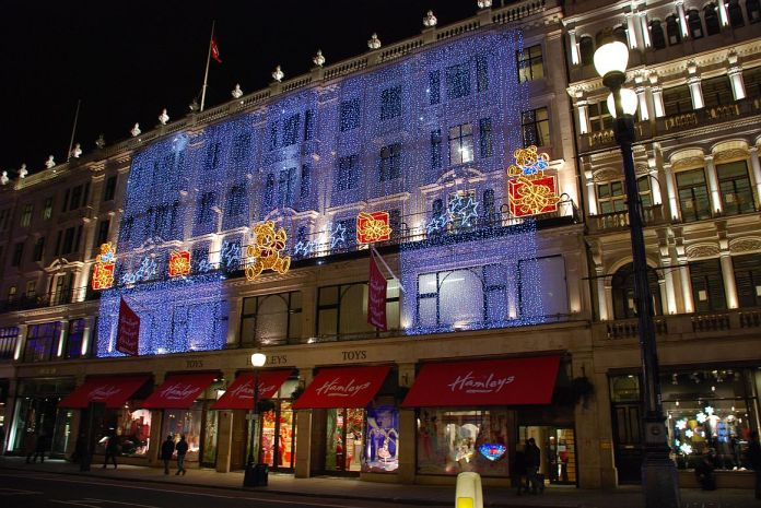 Hamleys Toy Shop a Londra