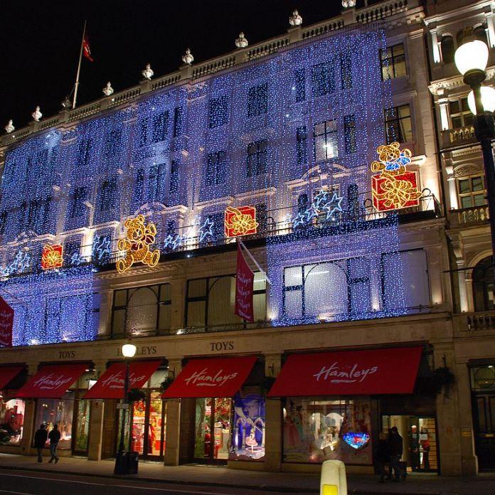 Hamleys Toy Shop a Londra