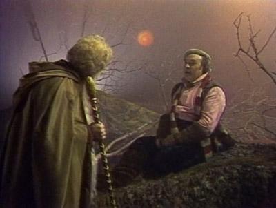 La visita dello stregone Gandalf