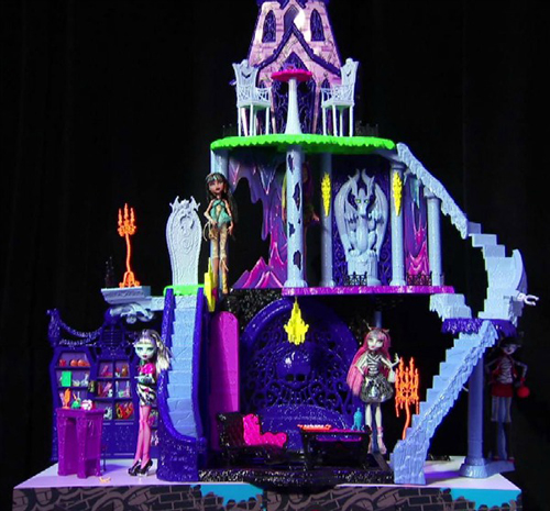 Le catacombe playset Monster High 177,66 € su chegiochi.it