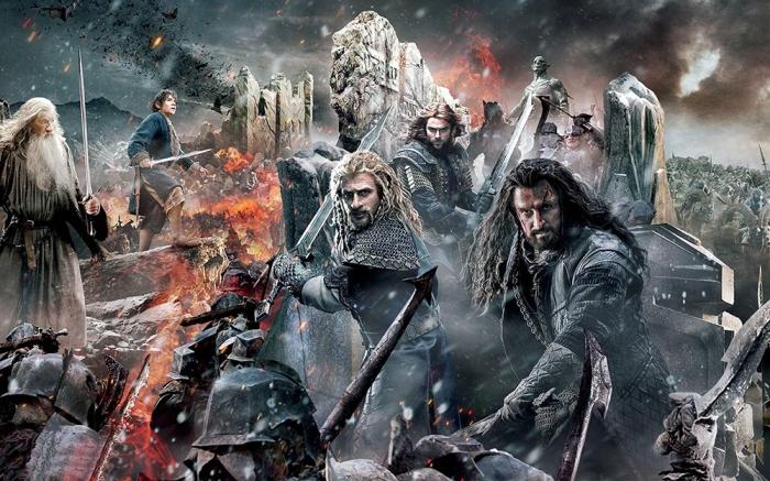 A voi, le epiche battaglie delle pellicole fantasy: dalle scheletriche milizie ne Gli Argonauti fino alla battaglia del Fosso di Helm in Lord of The Ring.