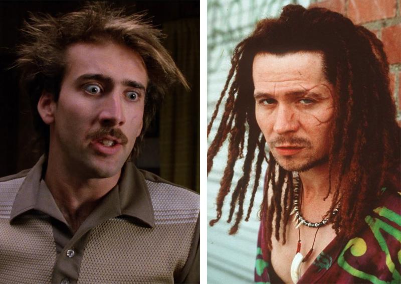 Nicolas Cage e Gary Oldman