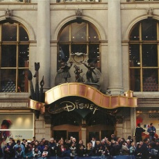 World Of Disney Store a 5Th Avenue Manhattan nella Grande Mela